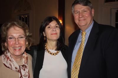 Patsy Elliott, Linda Graef Jones, Bill Siener